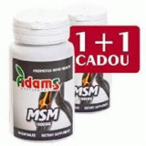 MSM 1000mg Adams Vision 30+30cps Cod: adam00625
