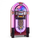 Auna Graceland XXL BT Jukebox Bluetooth USB SD AUX CD AM / FM