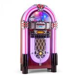 Auna Graceland XXL BT Jukebox Bluetooth USB SD AUX CD AM / FM