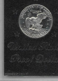 MONEDA ARGINT USA ONE DOLLAR 1971 S EISENHOWER PROOF