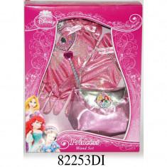 Set accesorii cu bagheta Disney 3 New Princess, 4 piese, 3 ani+