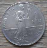Moneda argint 1 leu 1914