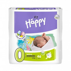 Scutece Happy Before New Born - 2 kg