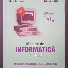 MANUAL DE INFORMATICA Profil Real - Hutanu, Tudor