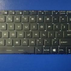 Tastatura laptop noua MSI WS60 GE62 GE72 Black (Full colorful backlit.without frame. WIN 8) US
