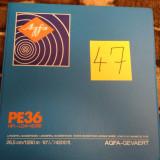 47.Banda Magnetofon AGFA rola policarb.26cm-Clasic (Akai,Teac,Tascam,Revox,BASF)