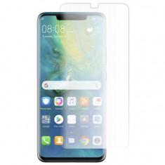Folie Sticla Lichida UV BubbleFree GlobalTech pentru Huawei Mate 20 Pro 9H 026mm Full Cover Transparenta