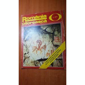 romania pitoreasca februarie 1974-art. si foto orasul vulcan,rasnov si iasi