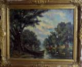 PEISAJ- PANTELI STANIU, ULEI PE PANZA 1567