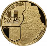 Moneda-uncie Aur BNR-31 Gr.24 karate-Vlad Tepes 2009 doar 250 bucati!