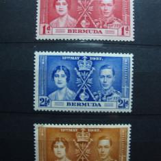 BERMUDA SERIE 1937 GEORGE VI MH