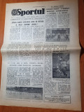 sportul 2 iulie 1986-articol echipa de fotbal otelul galati nou promovata