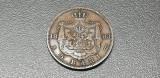 ROMANIA 5 Bani 1883 in cartonas