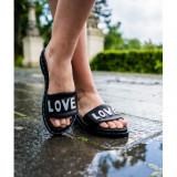 Cumpara ieftin Love Slippers Negru 36