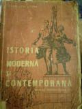 Istoria moderna si contemporana manual pentru clasa a VI-a, Al. VIANU, 1957