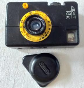 Aparat foto rusesc cu film - AGAT 18 K - de colectie