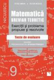 Matematică, clasa a IX-a. Breviar teoretic. Exerciţii şi probleme propuse şi rezolvate. Filiera teoretică.