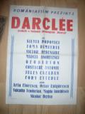 Afis Film - Darclee - 1961 regie M.Iacob , cu Silvia Popovici , ,dim.= 50x70cm
