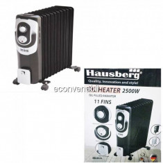 Calorifer Electric 11 Elementi cu ulei 2500W Hausberg HB8920