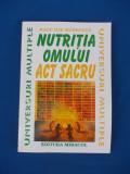 RADU ILIE MANECUTA - NUTRITIA OMULUI_ACT SACRU , 1996