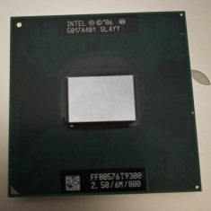 Procesor laptop T9300 Socket P 2.5Ghz FSB 800