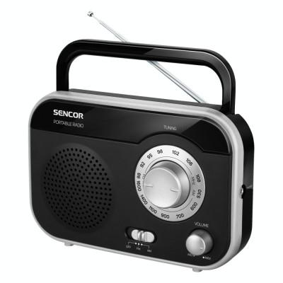 Radio Sencor SRD 210 BS, negru/argintiu foto