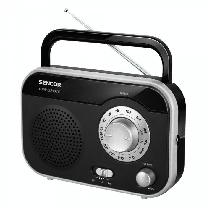 Radio Sencor SRD 210 BS, negru/argintiu