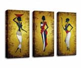 Cumpara ieftin Set 3 tablouri Ancient 20x45 cm - Majestic