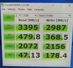 SSD Samsung PM981a (970 Evo Plus OEM) 512 GB NVME M.2 PCIe x4 2280 foto