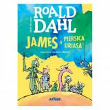 James si piersica uriasa, Roald Dahl