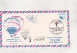 bnk fil Corespondenta parasutata din balon - Zbor Balcanfila 91 Bacau