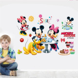 STICKER autocolant perete decorativ MICKEY MOUSE autoadeziv camera copii bebe