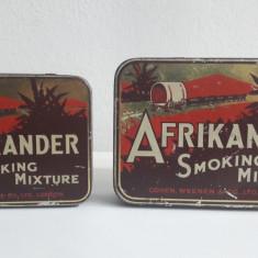 cutie veche de tutun AFRIKANDER SMOKING MIXTURE ( lot 2 buc.)