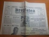 dreptatea 10 mai 1991- ziua regalitatii,si art. regele mihai si linistea noastra
