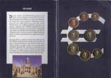 Cipru Set 8 - 1, 2, 5, 10, 20, 50 euro cent, 1, 2 euro 2002 - UNC !!!