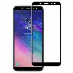 Folie de sticla full screen Samsung Galaxy A6 2018 Black