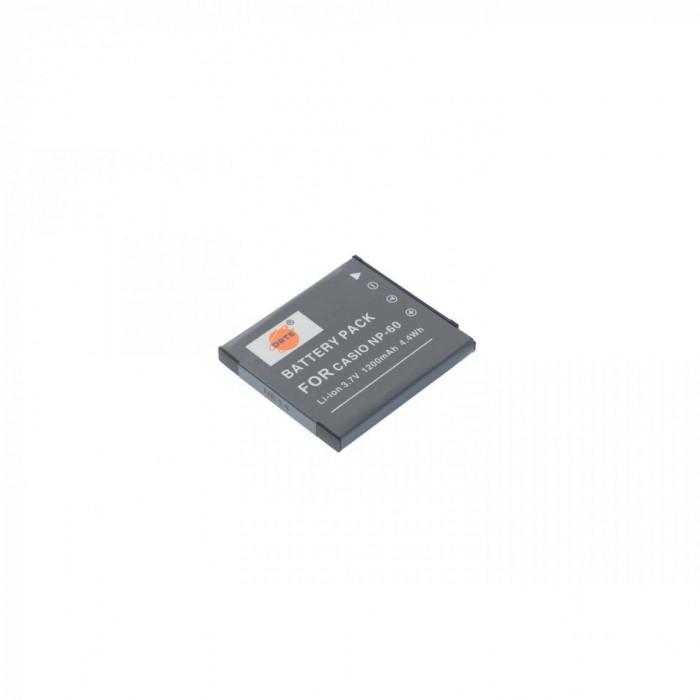 Acumulator DSTE NP-60 1200mAh replace Casio Exilim EX-Z20 EX-Z19 etc
