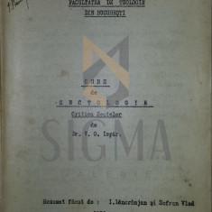 Dr. V. G. ISPIR - CURS de SECTOLOGIE - Critica Sectelor lito - Facultatea de Teologie 1928