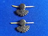 Insigne militare - Insigne România - Semne de armă - Infanterie (plastic)