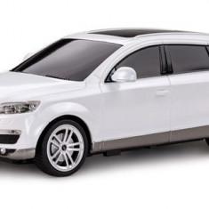 Masina Rastar, Audi Q7 1:24 RTR cu Telecomanda - Alb