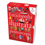Set enciclopedia ilustrata pentru copii, 6 carti