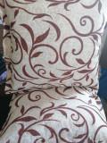 Perne colorate bej, set 2 bucati, Marime 65×65 cm