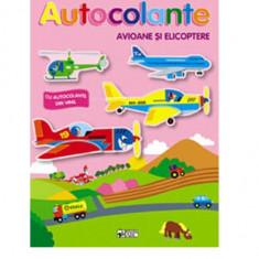 Avioane si elicoptere - Ne jucam si construim  