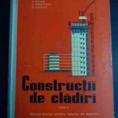 Constructii De Cladiri Vol Ii - N. Balan, C. Radulescu, O. Tcaciuc ,547654