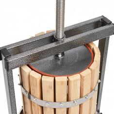 Teasc de struguri 20 litri lemn stejar, Presa pentru struguri Vilen