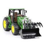 Tractor John Deere 6920 cu încărcător frontal Bruder