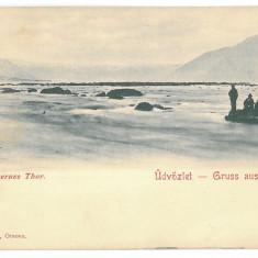4187 - ORSOVA, Litho, Romania - old postcard - used - 1904, Circulata, Printata