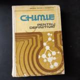 CHIMIE PENTRU DEFINITIVAT - ION GANESCU