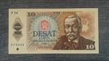 10 Korun 1986 Cehoslovacia aunc / seria 578960