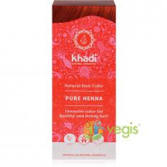 Vopsea de Par Naturala Rosu – Henna Pura 100g